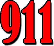 911-Red-Number