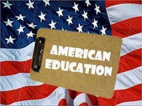 US flag edu